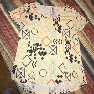 Women's Lularoe Aztec Shirt